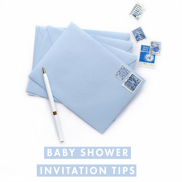 Baby Shower Invitations Tips