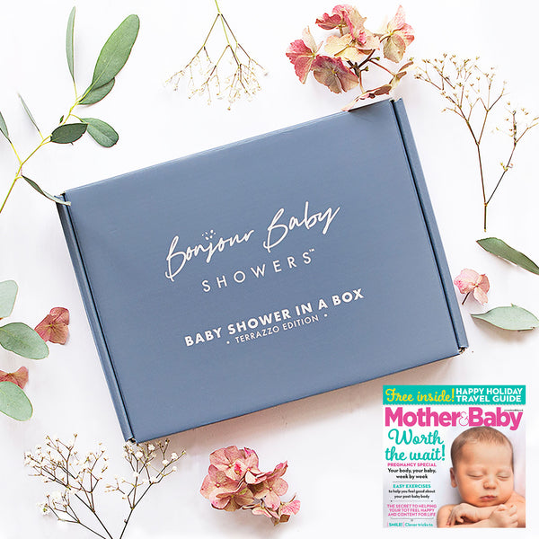 Mother and Baby Magazine features Baby Shower in a Box