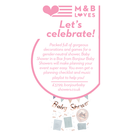 Baby Shower in a Box, Mother and Baby Magazine