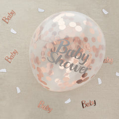 Baby Shower Confetti Balloon
