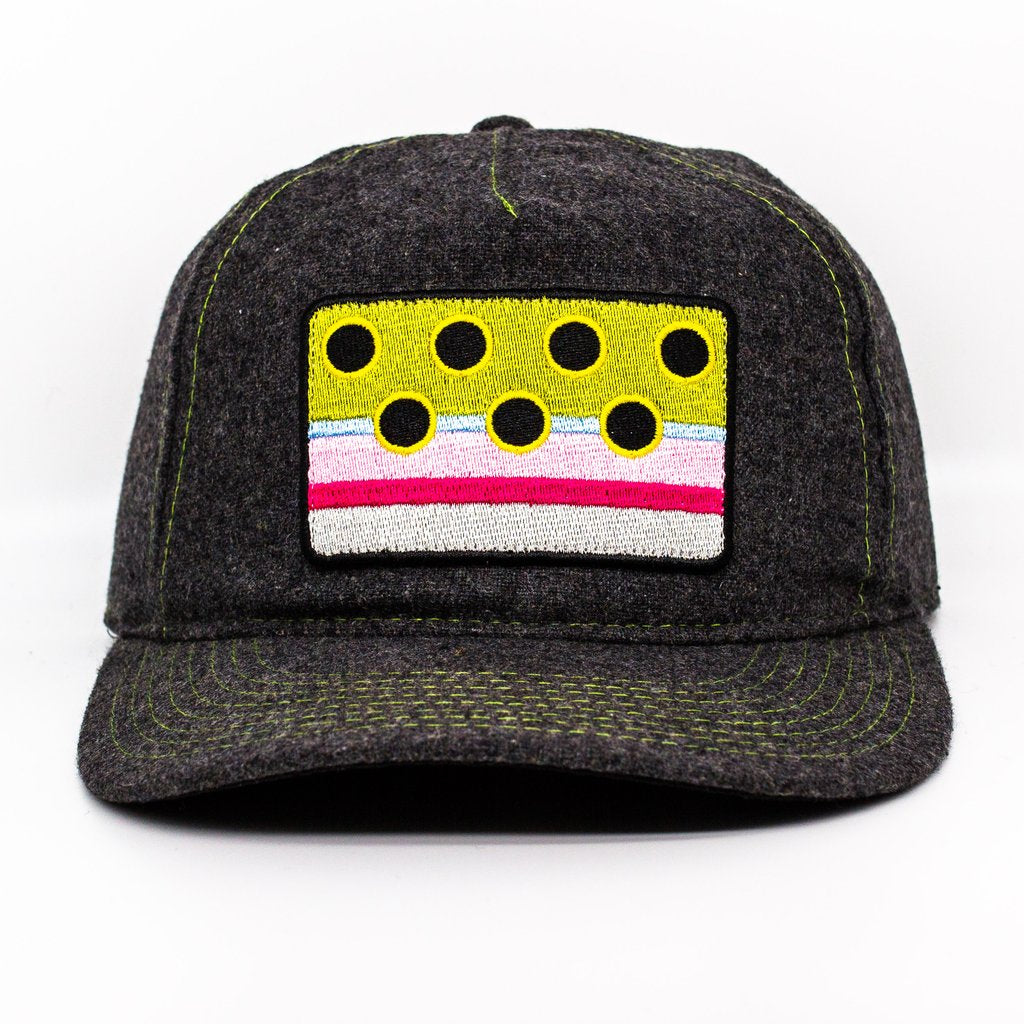 Rainbow Trout Patch Hat by Nate Karnes