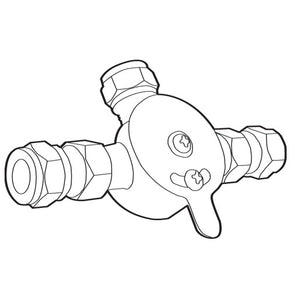 104424 Moen Mixing Valve Commercial Mixing Valve with Check Valve
