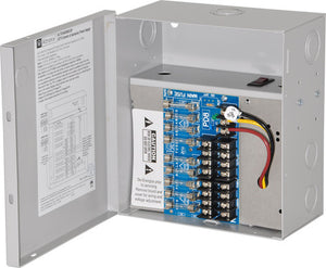 Altronix ALTV248300ULM CCTV Power Supply, 8 Fused Class 2 Outputs, 24/28VAC @ 12.5A, BC100M Enclosure