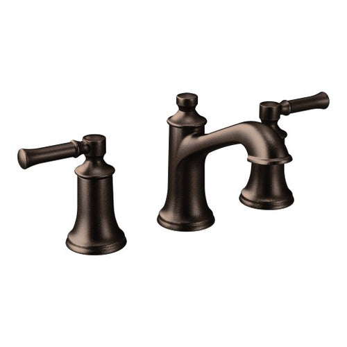 T6805ORB Dartmoor Oil Rubbed Bronze Two-Handle High Arc Bathroom Faucet