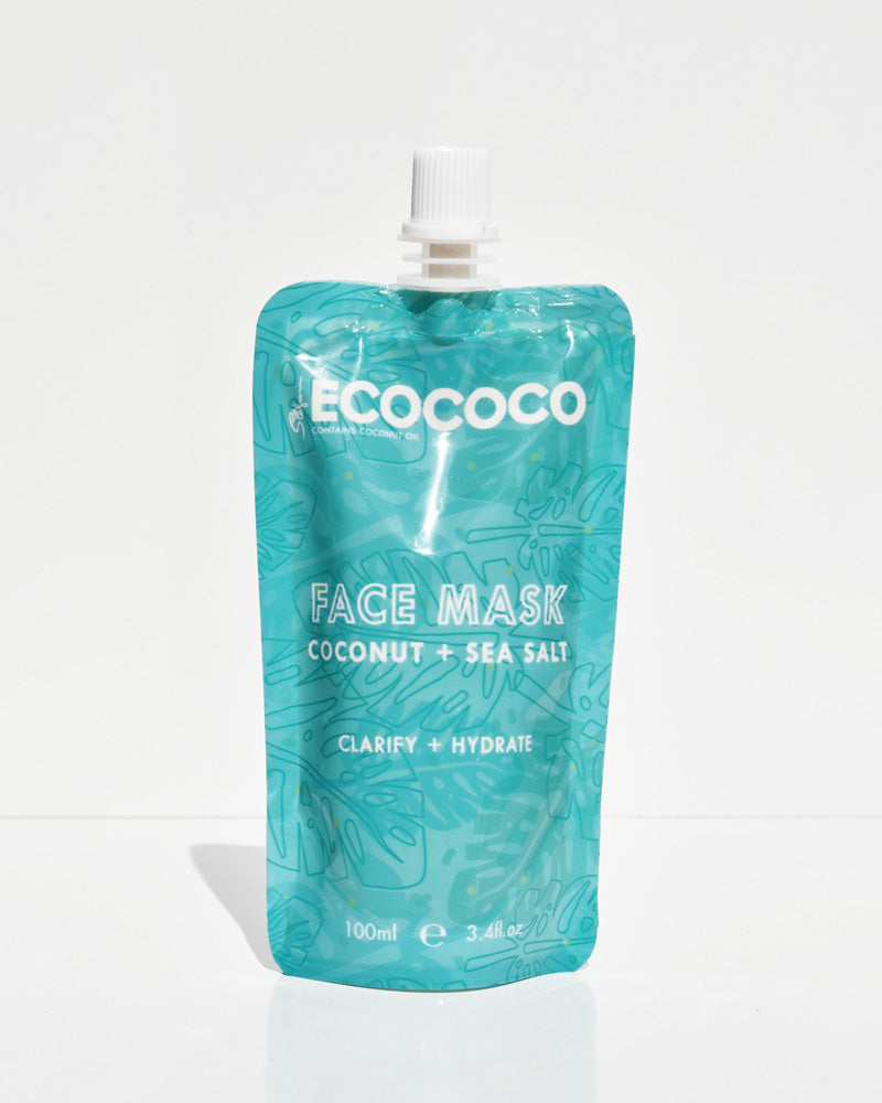 ECOCOCO Coconut + Sea Salt Purifying Face Mask