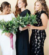 Load image into Gallery viewer, Faux Eucalyptus Bridal Bouquet