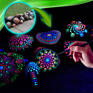 Luminous Mandala Dotting Kit
