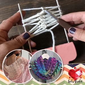 Adjustable Hairpin Lace Loom