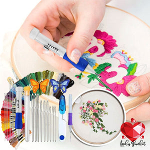 Embroidery Punching Kit
