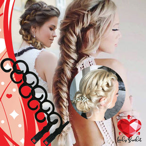 Twist Plait Hair Braiding Tool