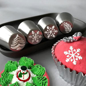 Christmas Icing Nozzle