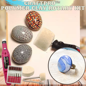 CraftPRO™ Polymer Clay Rotary Kit