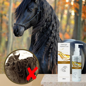 [PROMO 30% OFF] HorseGroom™  Mane Detangle Treatment