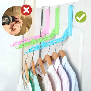 Spacev™ Door Valet Foldable Hanger