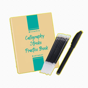 [PROMO 30% OFF] WritePro Calligraphy Stroke Practice Book Set