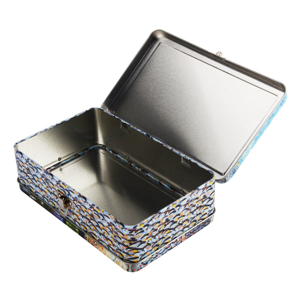 DaHo Metal Storage Box for School, Office, Home, Arts & Crafts Kits