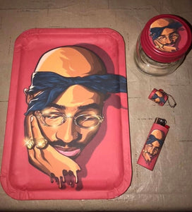 Tupac Custom Tray Set