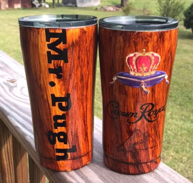 Crown Royal Custom Tumbler Cup