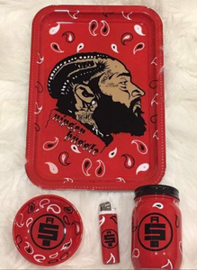 """Nipsey"" Custom Tray Set"