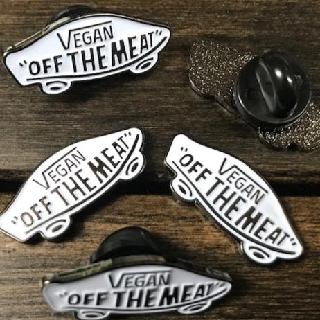 Off The Meat Enamel Pin