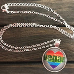 Vegan Rainbow Necklace