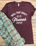 Planned Tee