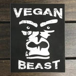 Vegan Beast Sticker