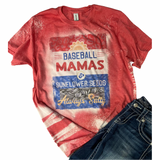 Baseball Mamas ~ Always Salty Bleach Washed