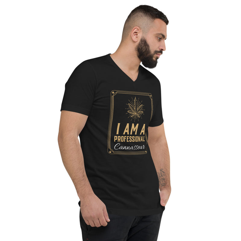 Freshly Baked - The Cannasseur - Limited Drop - V-Neck Tee - Freshly Baked