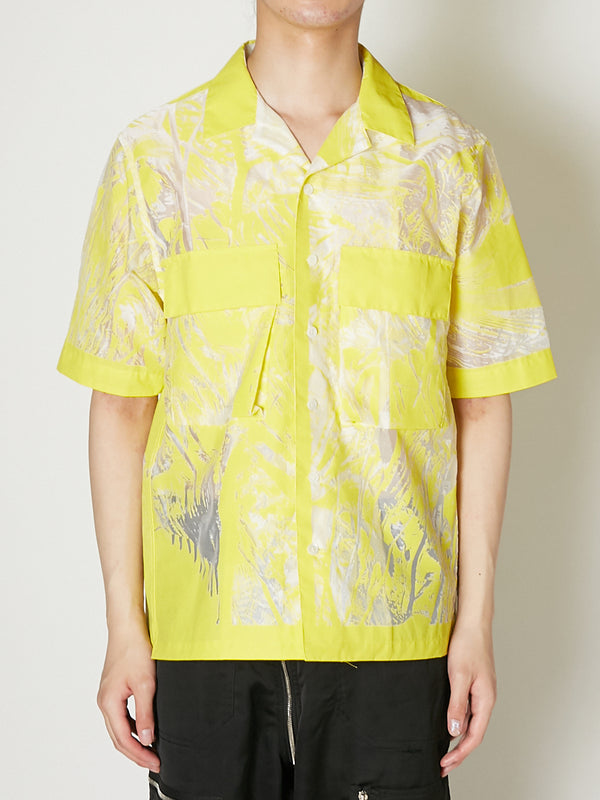 SHEER JUNGLE HAWAIIAN SHIRT