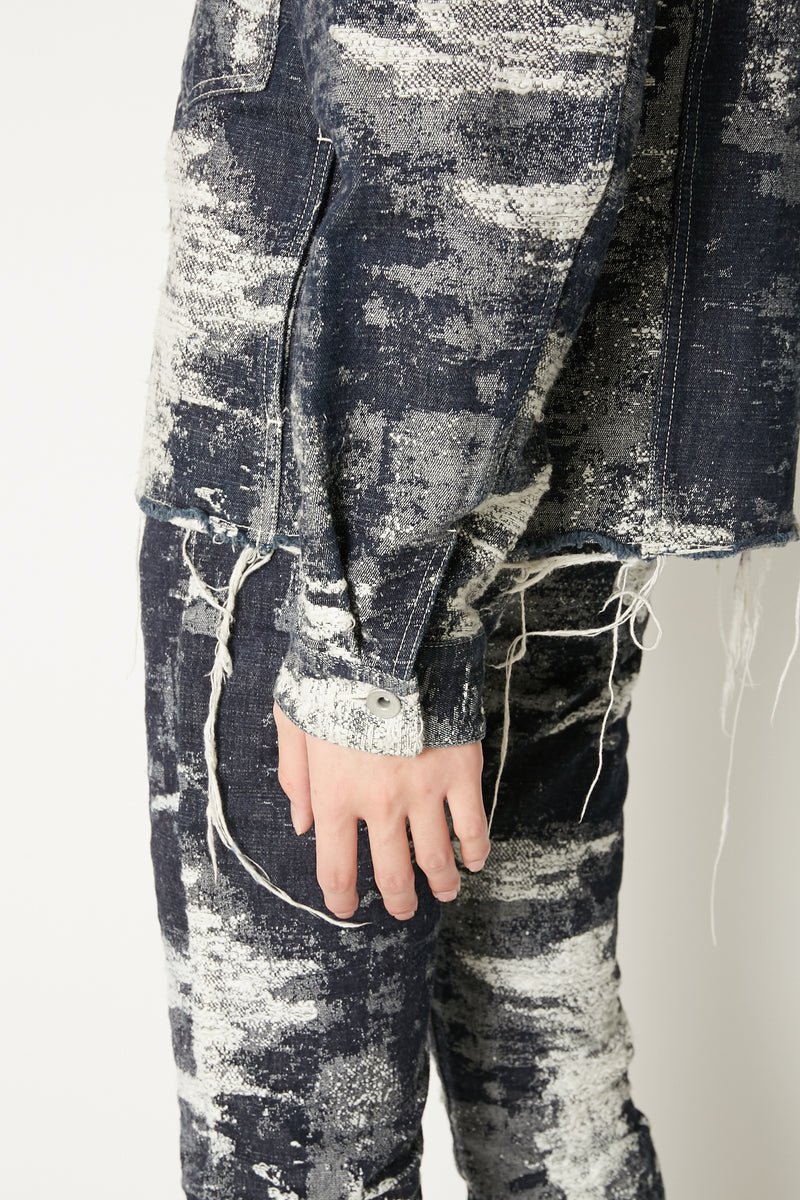TAAKK DENIM JACKET ONE-WASH