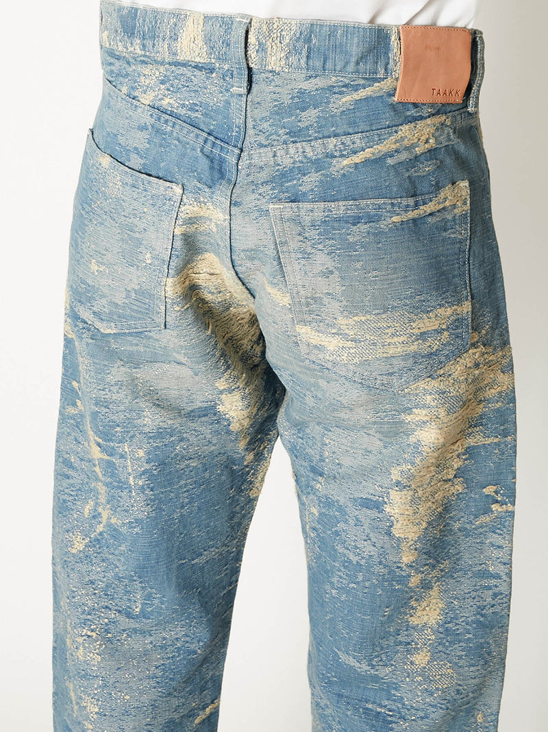 TAAKK DENIM STRAIGHT BLEACH