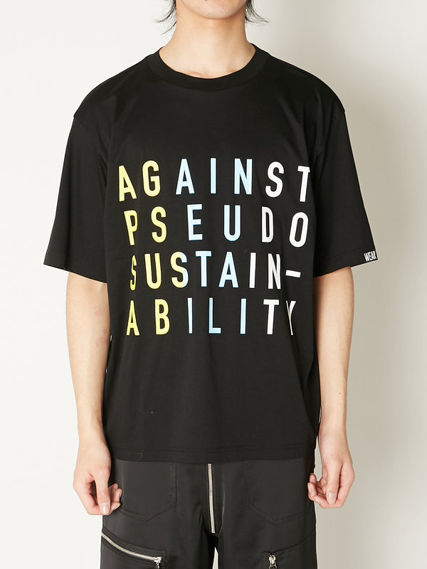 SUSTAINABLY TEE
