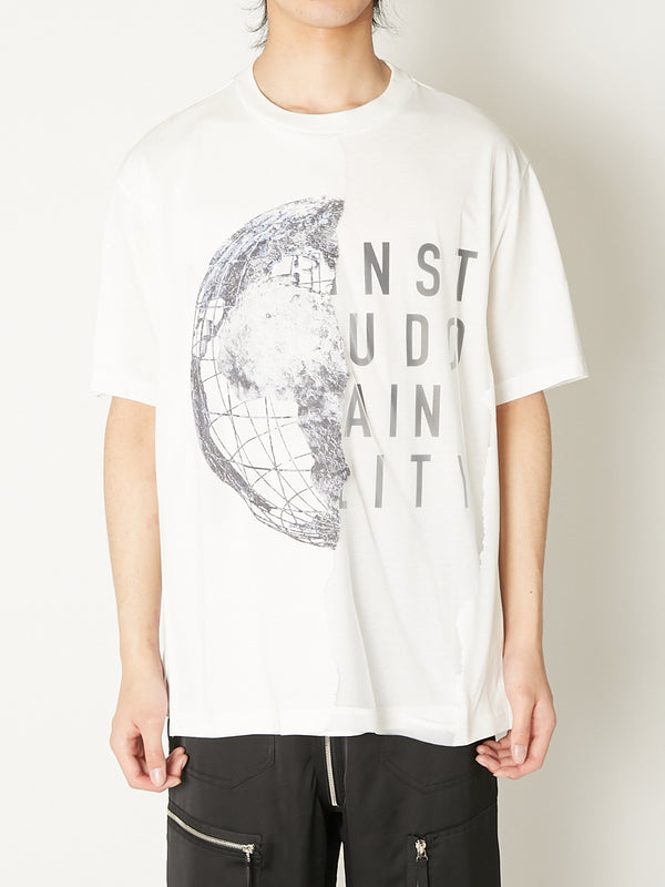 EARTH BURNING LAYERED TEE