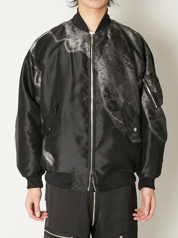 WEAR THE EARTH MA-1 JACKET