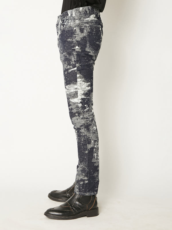 21ss -PRE ORDER-TAAKK DENIM STRETCH SKINNY DENIM PANTS