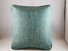 Load image into Gallery viewer, Aqua Tweed Indoor/Outdoor Comfee Cushion
