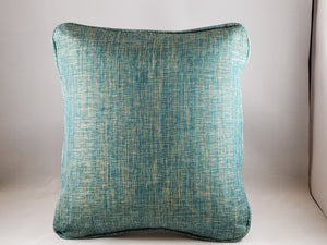 Aqua Tweed Indoor/Outdoor Comfee Cushion