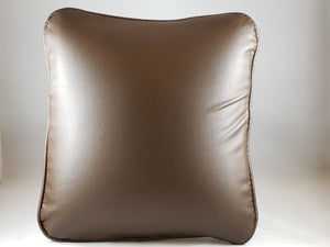 Brown Pleather Comfee Cushion