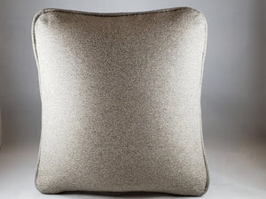 Light Neutral Taupe/Grey Micro-suede Comfee Cushion