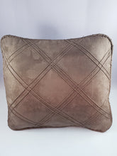 Load image into Gallery viewer, Sage Green Patterned Micro-Suede Comfee Cushion