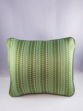 Load image into Gallery viewer, Green Striped Comfee Cushion