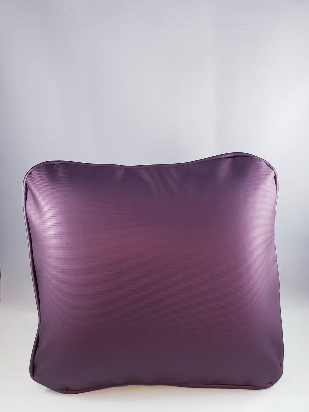 Mulberry Pleather Comfee Cushion