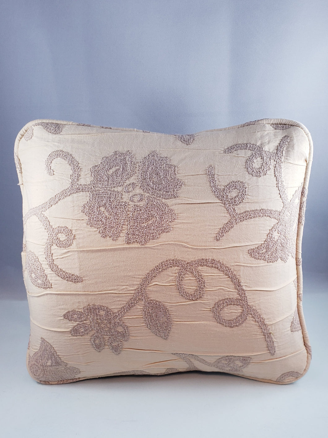 Beige Floral Pattern Comfee Cushion
