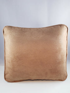 Sandy Beige Micro-Suede Comfee Cushion