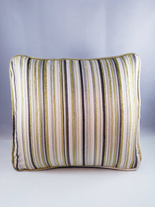 Neutral Stripe Comfee Cushion