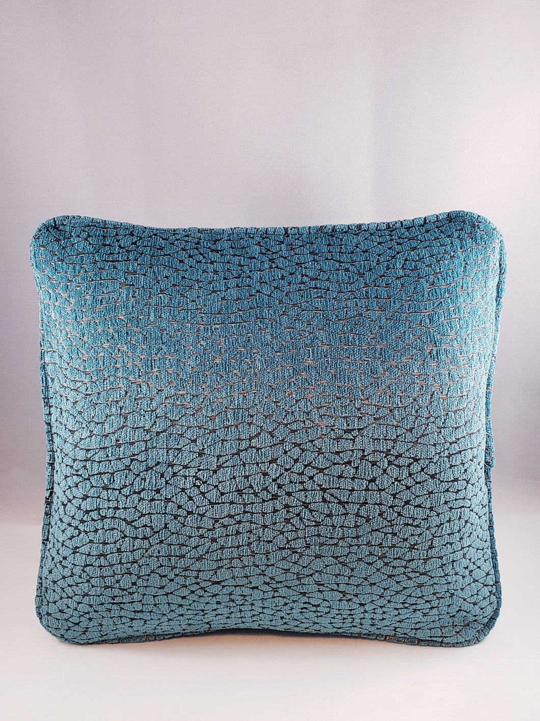 Pewter & Turquoise Pattern Comfee Cushion