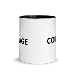 courage mug black