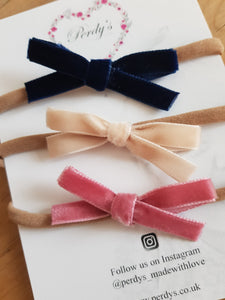 Trio of Beautiful Thin Bows.