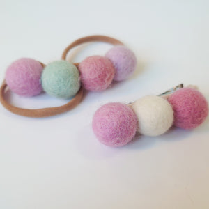 Beautiful Felt Ball Headbands
